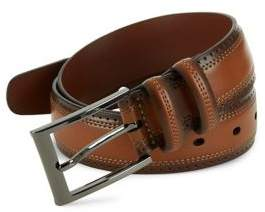 Perry Ellis Perforated Leather Belt