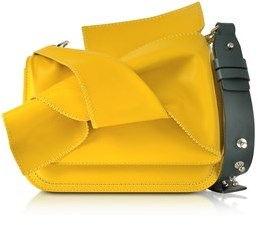 N°21 Women's Yellow Leather Shoulder Bag.