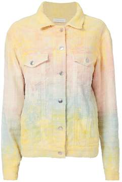 IRO Maloma Tie-Dye Tweed Oversized Jacket