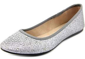 Style&Co. Style & Co Angelynn Women Round Toe Synthetic Silver Flats.