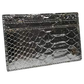 Roberto Cavalli Silver Exotic leather Purses, wallets & cases