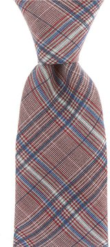 Murano Shirt Plaid Narrow Tie