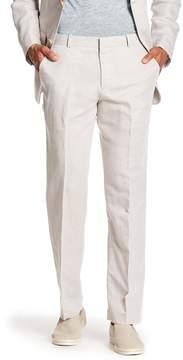 Perry Ellis Solid Linen Blend Pants