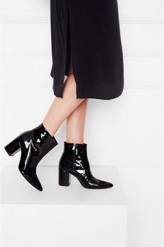 Anine Bing Natalie Boot Black Patent
