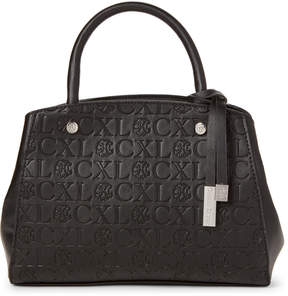 Christian Lacroix Cxl By Anabelle Embossed Logo Satchel