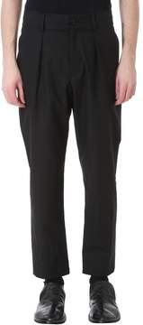 Damir Doma Page Black Cotton Pants