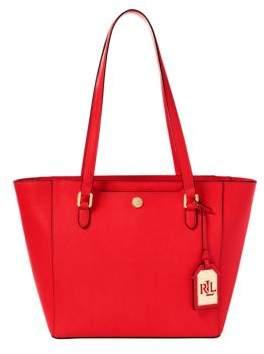Lauren Ralph Lauren Halee II Saffiano Shopper Bag