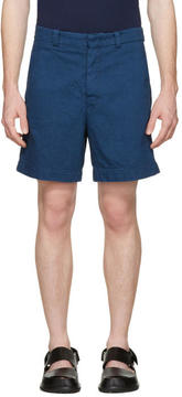 Marni Blue Denim Shorts
