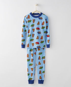 Hanna Andersson Long John Pajamas In Organic Cotton