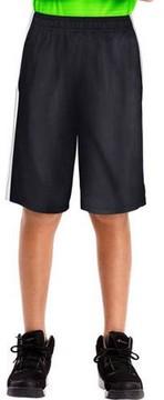 Hanes SPORT Boys' 10-inch Performance Dazzle Pocket Shorts