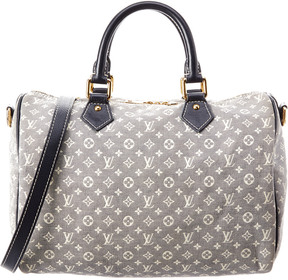 Louis Vuitton Navy Monogram Idylle Canvas Speedy 30 Bandouliere - ONE COLOR - STYLE