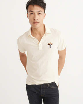Abercrombie & Fitch Novelty Patch Polo