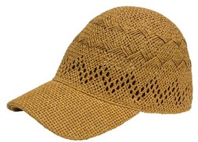 Isaac Mizrahi Straw Cap.