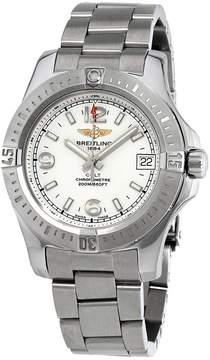 Breitling Colt 36 Chronometer Silver Dial Ladies Watch