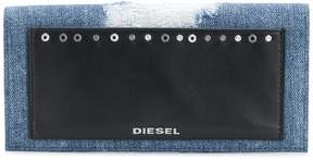Diesel front patched wallet