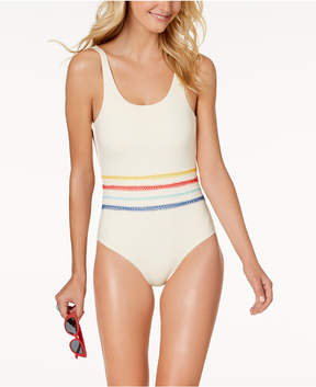 Dolce Vita Embroidered One-Piece Swimsuit Women's Swimsuit