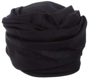 Balenciaga Pleated Pillbox Hat
