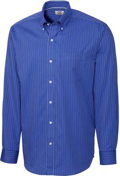 Cutter & Buck Blue Pinstripe Easy Care Button-Up - Men