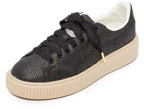Puma Basket Platform Lux Sneaker