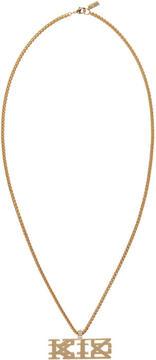 Kokon To Zai Gold Logo Necklace