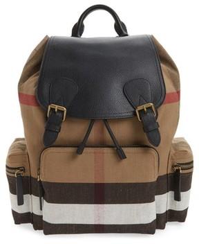 Burberry Men's Rucksack Backpack - Brown