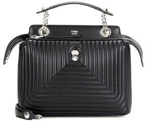 Fendi DotCom Click leather shoulder bag