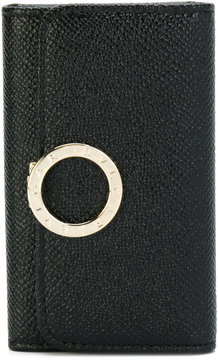 Bulgari key purse with logo closure clip