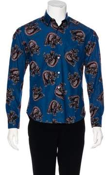 Louis Vuitton 2017 Elephant Print Shirt