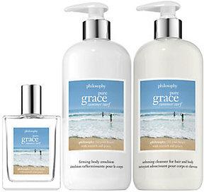 Philosophy Pure Grace Summer Surf Trio