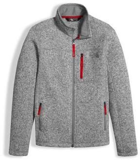 The North Face Gordon Lyons Full-Zip Jacket, Gray, Boys' Size XXS-XL