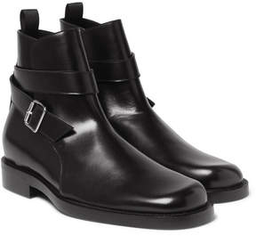 Balenciaga Leather Jodhpur Boots
