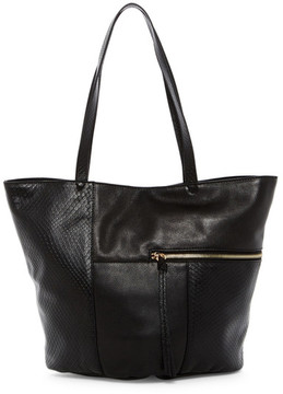 Kooba Prescott Snake Embossed Leather Tote