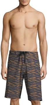 Tavik Men's Filter Board-Short Swim Trunks