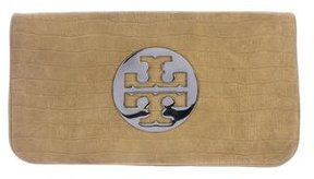 Tory Burch Embossed Reva Clutch - ANIMAL PRINT - STYLE
