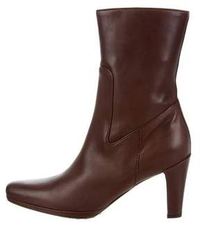 Car Shoe Leather Ankle Boots w/ Tags