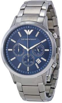 Giorgio Armani Classic Collection AR2448 Men's Stainless Steel Watch with Chronograph