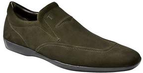 Tod's Tods Brown Suede Jazz Gommini Shoes U.S. Size 6.5 DS