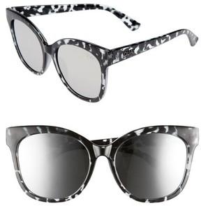 Quay Women's It'S My Way 55Mm Sunglasses - Black Tort/ Silver