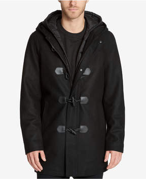 GUESS Men's Toggle Coat with Removable Bib