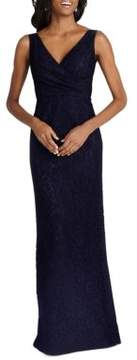 Donna Morgan Sleeveless V-Neck Gown