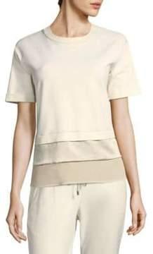 Peserico Lurex Short-Sleeve Shirt