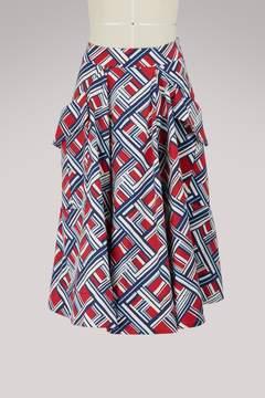 Carven Cotton skirt