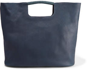 Simon Miller Birch Large Textured-leather Tote - Navy
