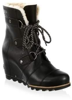 Sorel Joan Of Arctic Leather Booties