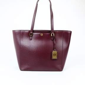Ralph Lauren Ralph Newbury Halee Port Leather Tote, $198