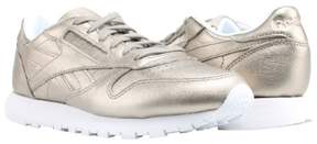 Reebok Classic Leather Melted Metal Gold/White Women's Running Shoes BS7898