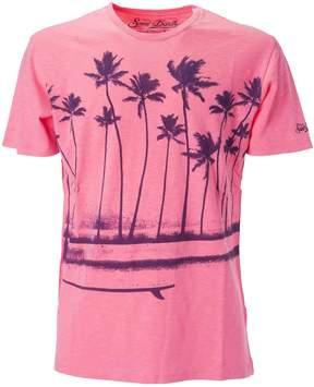 MC2 Saint Barth Printed Coconut Tree T-shirt