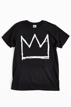 Junk Food Clothing Basquiat Crown Tee