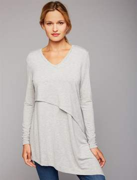 A Pea in the Pod Pull Down Mock Layer Nursing Top