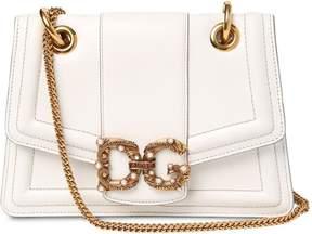 Dolce & Gabbana Amore Nappa Leather Bag